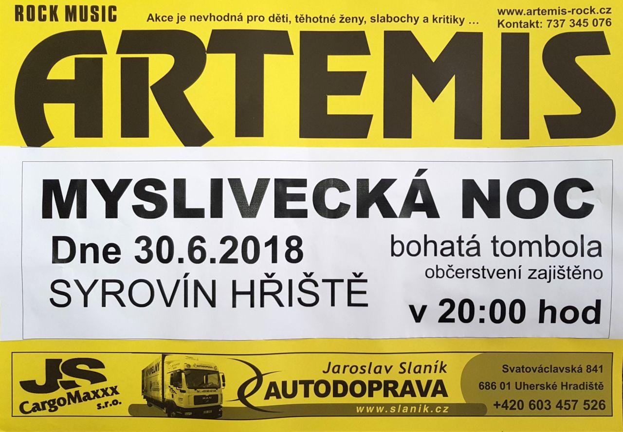 ARTEMIS Syrovín 30.6.2018